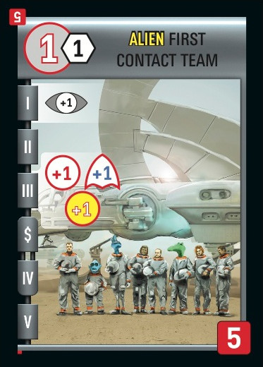 Alien First Contact Team