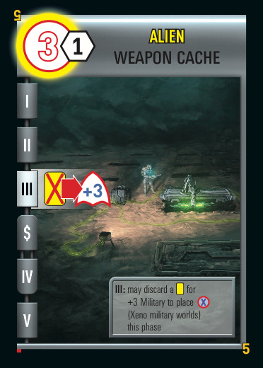 Alien Weapon Cache
